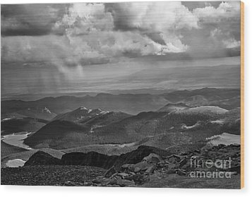 View From Pikes Peak Wood Print