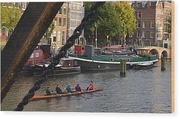 'skinny Bridge' Amsterdam Wood Print