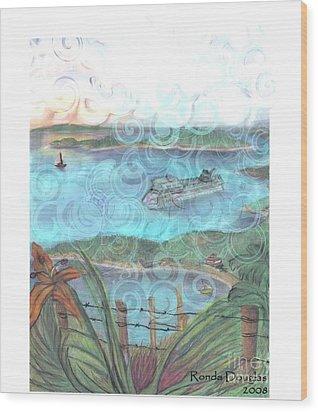 View From Tourtuga Wood Print