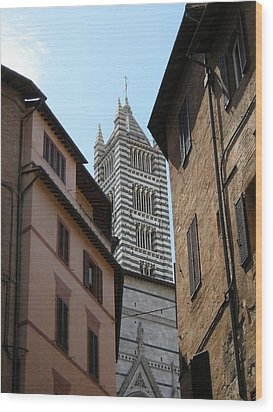 Wood Print featuring the photograph View Of The Duomo by Victoria Lakes