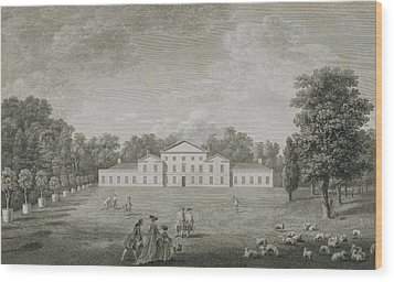 View Of The Palace At Kew Wood Print by John Joshua Kirby