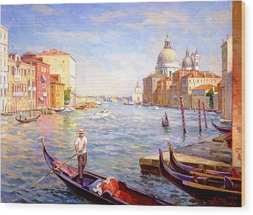 View On Della Salute Wood Print