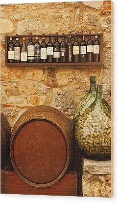 Villa Di Sosta Wood Print