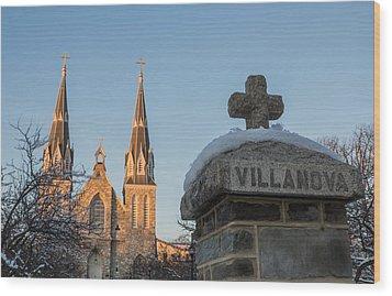 Villanova Wall And Chapel Wood Print