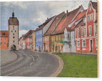 Vilseck Marktplatz Wood Print