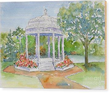 Vimy Memorial Wood Print