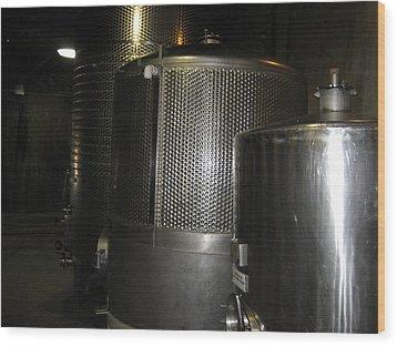 Vineyards In Va - 121220 Wood Print by DC Photographer
