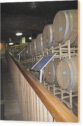 Vineyards In Va - 121222 Wood Print by DC Photographer