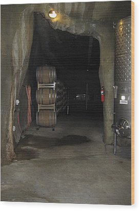 Vineyards In Va - 121223 Wood Print by DC Photographer