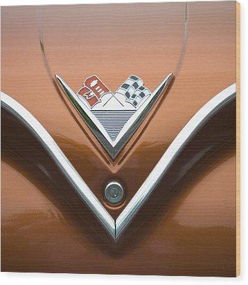Vintage 1960s Chevrolet Impala Wood Print by Carol Leigh