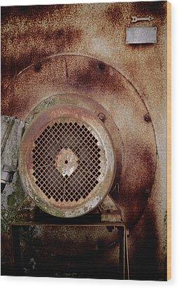 Vintage Air Wood Print by Odd Jeppesen