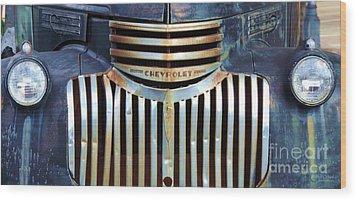 Vintage Chevrolet 005 Wood Print