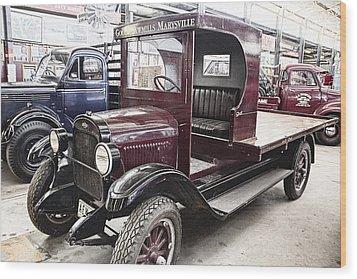 Vintage Chevrolet Pickup Truck Wood Print by Douglas Barnard