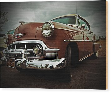 Wood Print featuring the photograph Vintage Chrysler by Gianfranco Weiss