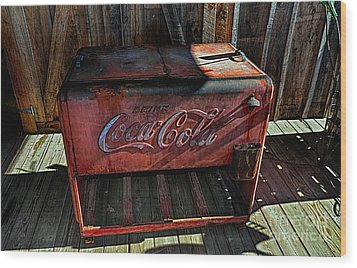 Vintage Coca-cola Wood Print
