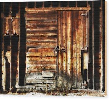 Vintage Dream Wood Print by Marilyn Hunt