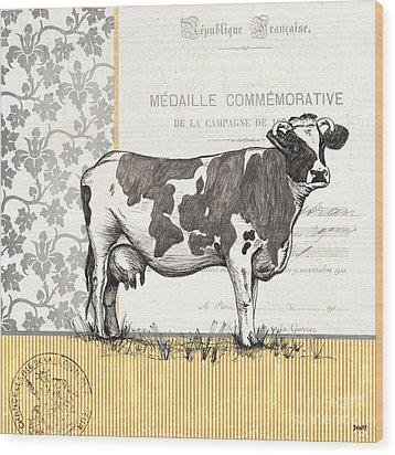 Vintage Farm 1 Wood Print by Debbie DeWitt