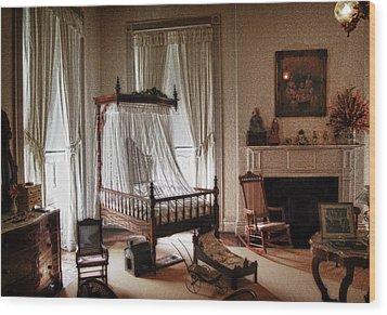 Vintage Home Wood Print