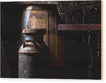 Vintage Indiana Wood Print by Jim Finch