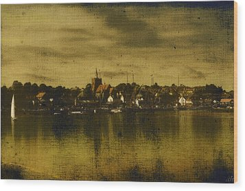 Wood Print featuring the digital art Vintage Maldon  by Fine Art By Andrew David