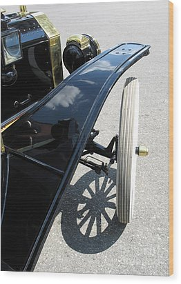 Wood Print featuring the photograph Vintage Model T by Ann Horn