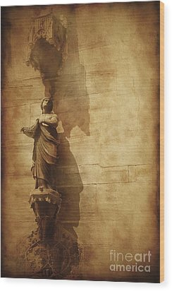 Vintage Photo Of Duomo Architecture Wood Print by Evgeny Kuklev