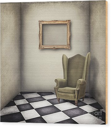 Vintage Room Wood Print by Jelena Jovanovic