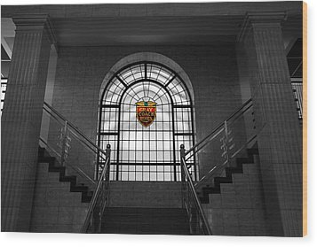 Vintage Stained Glass 2 Wood Print by Andrew Fare