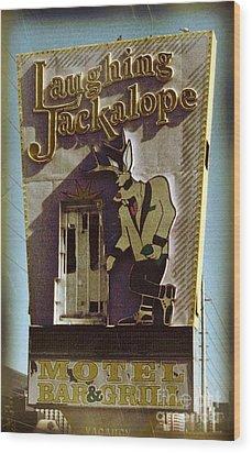 Vintage Vegas Wood Print by John Malone