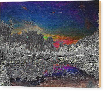 Wood Print featuring the photograph Virginia Landscape Art #1  by Digital Art Cafe