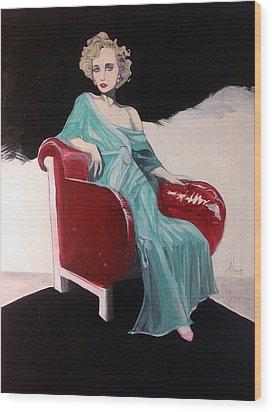 Virginia Smith Wood Print