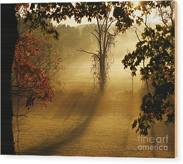 Virginia Sunrise Wood Print