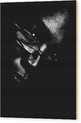 Wood Print featuring the photograph Vision Portrait 1 by Cleaster Cotton