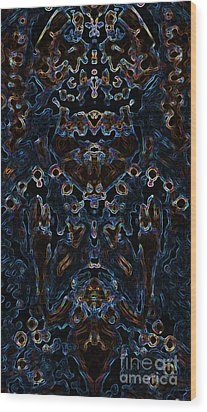 Visionary 3 Wood Print by Devin Cogger