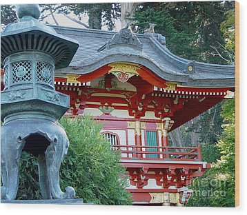 Wood Print featuring the photograph Visions Of Japan by Nancy Bradley