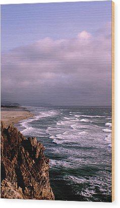 Vista Del Mar San Francisco Wood Print by M Bleichner