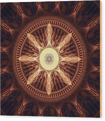 Vitality Wood Print by Anastasiya Malakhova