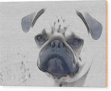Vito Wood Print by Cindy Luelling