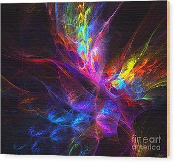 Vivid Imagination Wood Print by Arlene Sundby