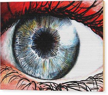 Vivid Vision  Wood Print by Tylir Wisdom