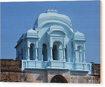 Vizianagaram Forte Wood Print by Johnson Moya