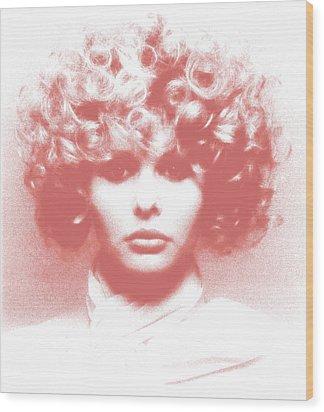 Vogue  Wood Print by Victor Minca