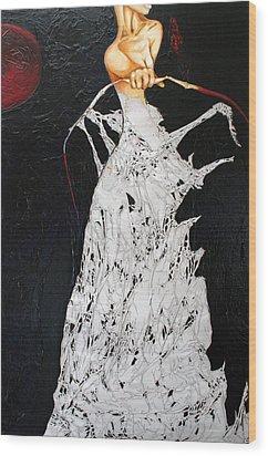 Void Wood Print by Alexandra Louie
