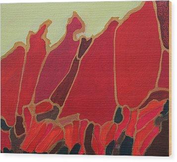 Volcano Vault Wood Print