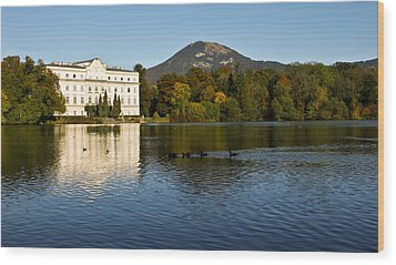 Wood Print featuring the photograph Von Trapp's Mansion by Silvia Bruno