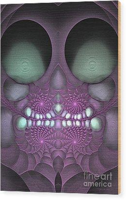 Voodoo Child - Surrealism Wood Print by Sipo Liimatainen