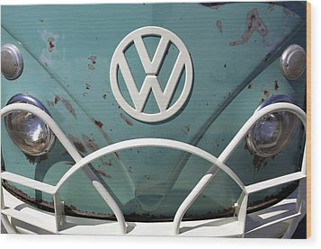Vw Oldie But Goodie Wood Print by Jane Eleanor Nicholas