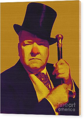 W C Fields 20130217p80 Wood Print by Wingsdomain Art and Photography
