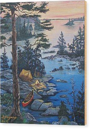 Wabigoon Lake Memories Wood Print
