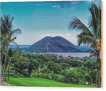 Wailea Golf 6 Wood Print